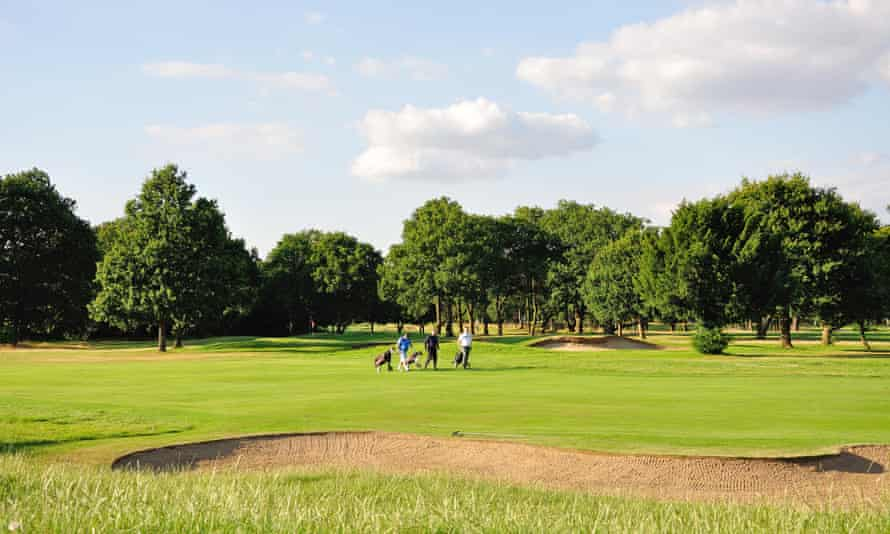The golf course at Stoke Park Country Club, Spa and Hotel.
