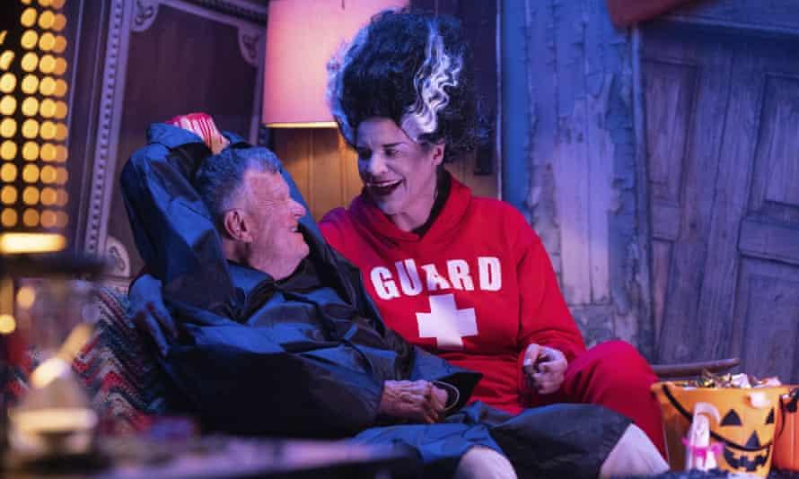 Dick Johnson and Kirsten Johnson in Dick Johnson Is Dead.