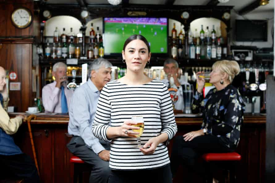Direct challenge to racism … Nadine Shah in South Tyneside.