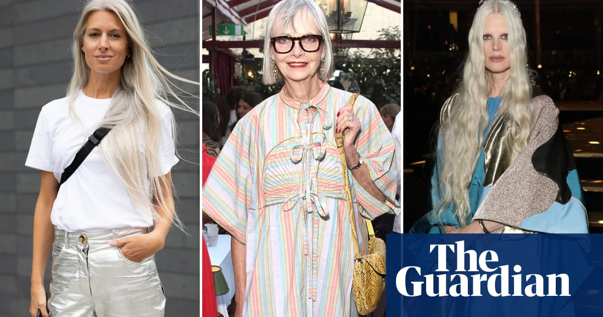 Glad to be grey: how women changed the debate on hair colour