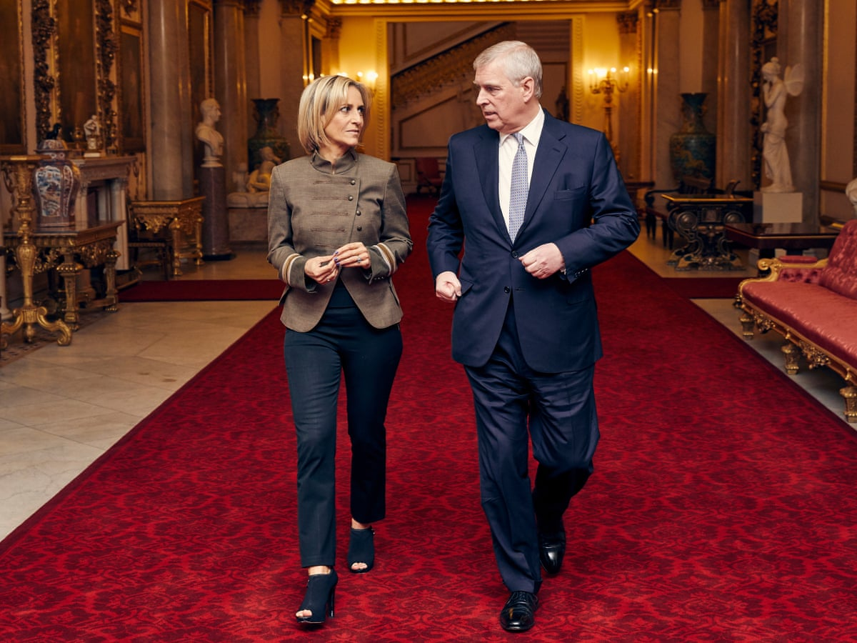 Emily Maitlis: 'Prince Andrew was unleashed. He wanted to tell me  everything'   Television   The Guardian
