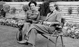 The Duke and Duchess of Windsor in Sunninghill, Berkshire, in 1947.