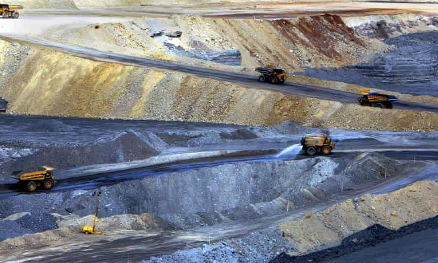 The New Acland coalmine