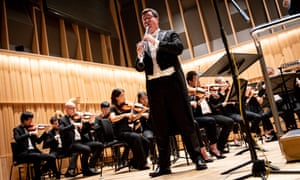 Students perform in the Recital Hall at Royal Birmingham Conservatoire