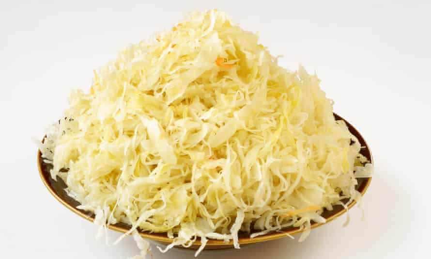 Make sauerkraut from cabbage leaves that would normally be thrown out.