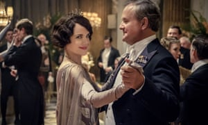 'Lighthearted stuff': Elizabeth McGovern and Hugh Bonneville in Downton Abbey.