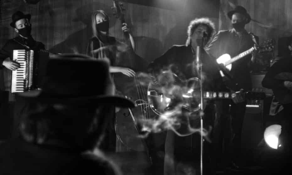 Bob Dylan in Shadow Kingdom.
