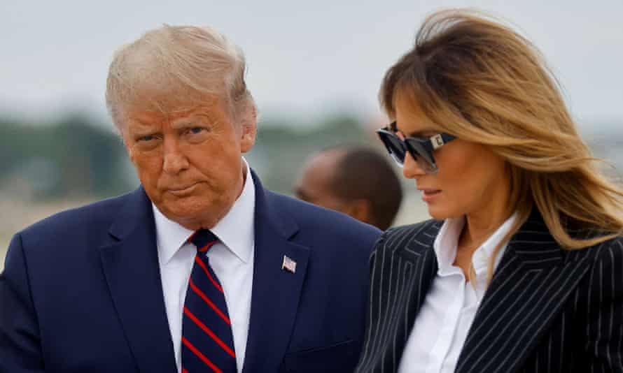 President Donald Trump and the first lady, Melania Trump, both tested positive for coronavirus.