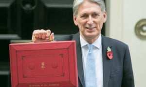 Philip Hammond presents his budget outside 11 Downing Street