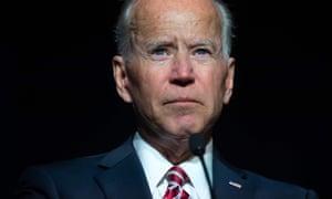 Joe Biden speaks in Dover, Delaware, this month.