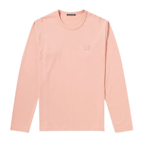 long sleeved pink t-shirt Acne