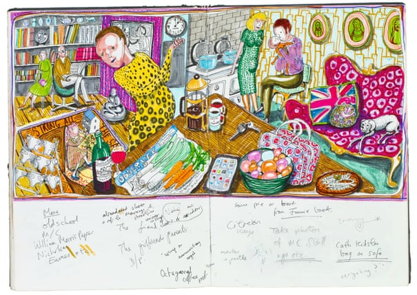 Inside Grayson Perry S Sketchbook Art And Design The
