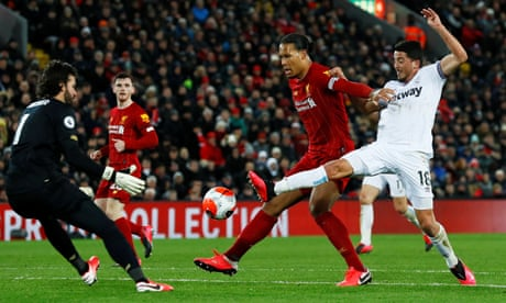 'It's beyond the model': have Liverpool exposed the limits of xG?