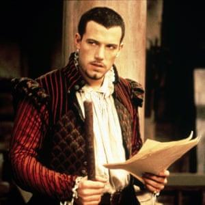 Ben Affleck as Ned Alleyn in Shakespeare in Love