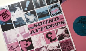 The Jam's pink vinyl of Sound Affects