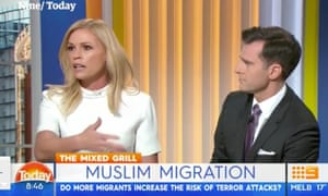 Nine presenter Sonia Kruger and her Today Extra co-host, David Campbell