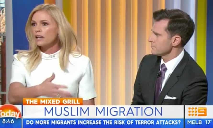 Sonia Kruger and her Today Extra co-host, David Campbell, on Channel Nine's Today program