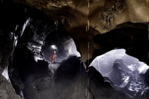 The pumps are used by the tuskers to carve enormous caverns under the frozen ground