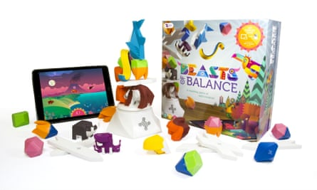Beasts of Balance blends physical and digital gameplay.
