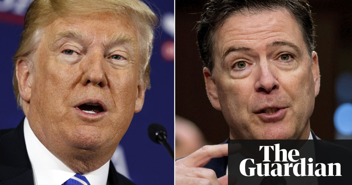 James Comey says Donald Trump 'morally unfit' to be president