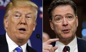 James Comey responded to Donald Trump's claim that he leaked classified information: 'That memo was unclassified then, it's still unclassified, it's in my book. The FBI cleared that book before it was published.'
