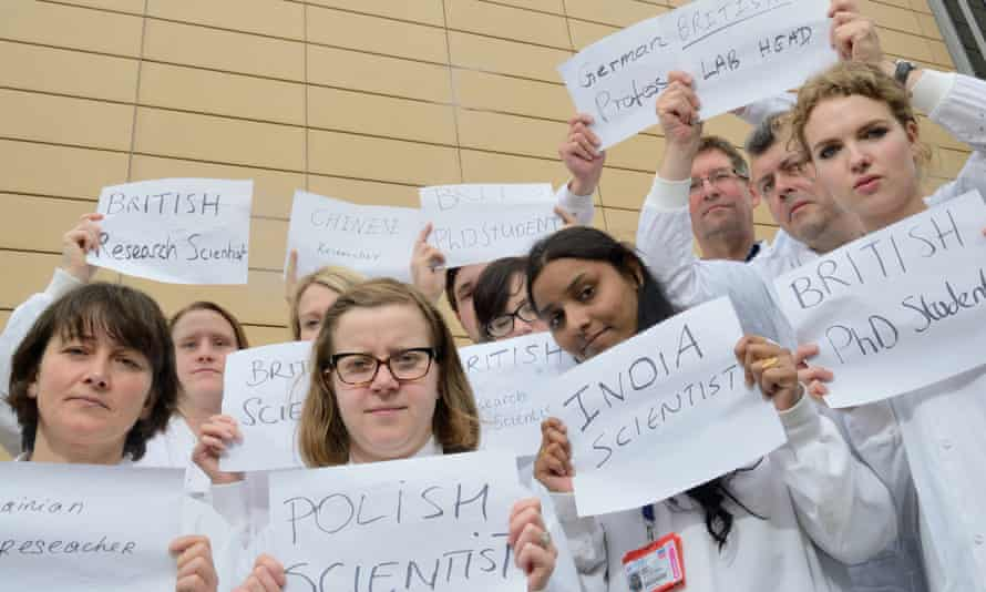 A mixed bunch:cancer researchers at Newcastle University