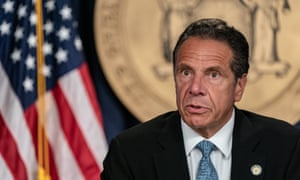 Andrew Cuomo in New York City last week. Cuomo has insisted that increasing taxes on the super-rich will make them more likely to leave the state.
