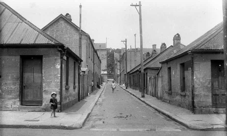 Surry hills houses in the 1930s