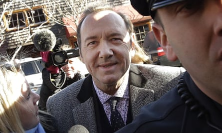 Kevin Spacey has previously said that his accuser, who was aged 18 at the time of the alleged incident, is lying in the hope of winning money in a civil case.