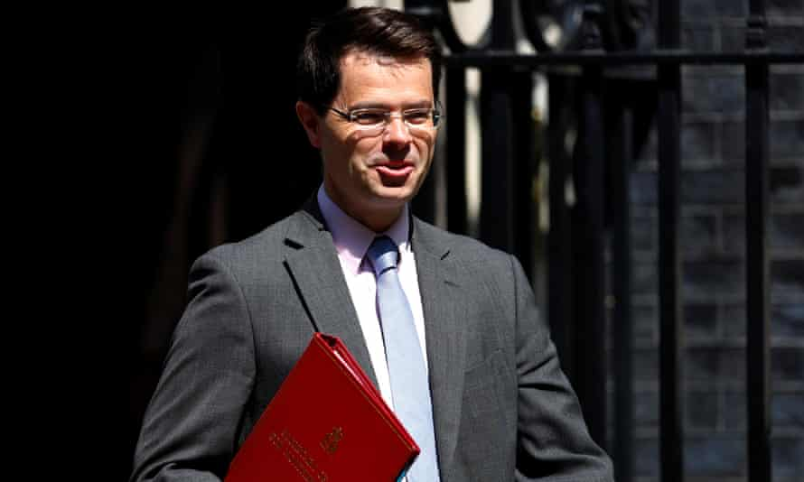 James Brokenshire leaves Downing Street after a cabinet meeting.