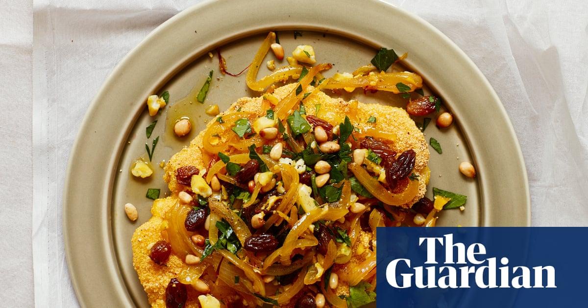 Thomasina Miers' recipe for crispy cauliflower steaks with a saffron escabeche | The simple fix