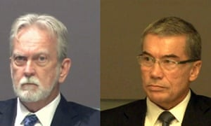 James Mitchell, left, and Bruce Jessen, the psychologists who created the CIA's so-called 'enhanced interrogation techniques'.