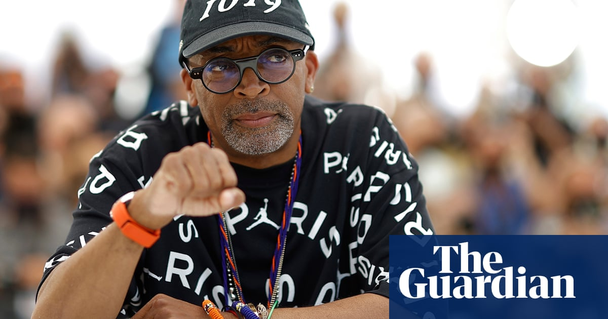 Spike Lee: 'You hope that black people will stop being hunted down like animals' – video