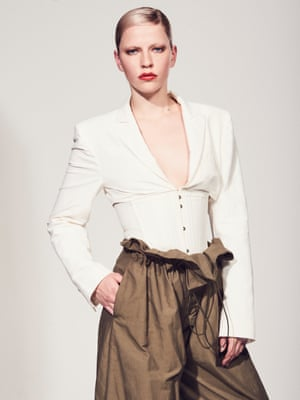 Trousers £645, and jacket £1,195, both stellamccartney.com