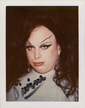 Divine in 1974 from Andy Warhol, Polaroids 1958-1987