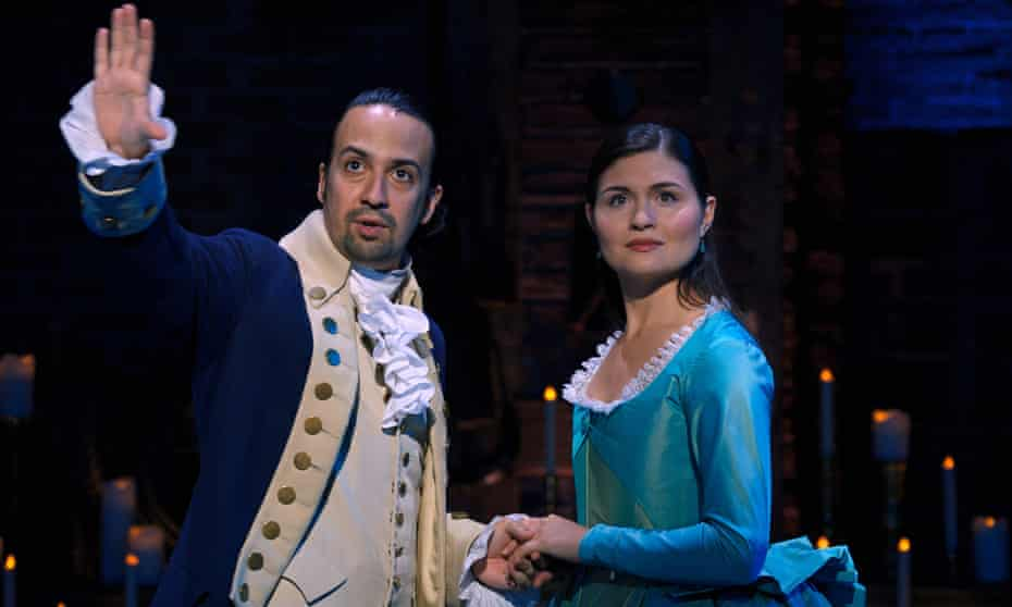 Lin-Manuel Miranda and Phillipa Soo.