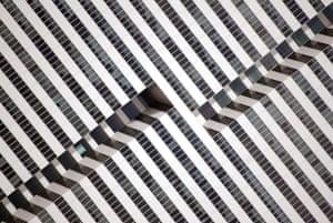 Hypnotic Building (Houston, Texas)  by Nikola Olic