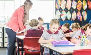 classroom children learning