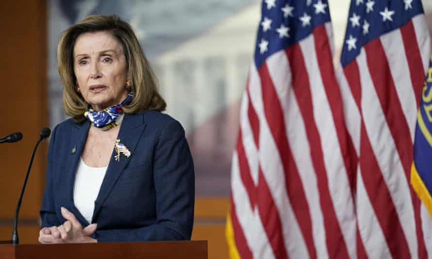 Nancy Pelosi's lukewarm response is another sign that US politicians are far from ready to take concrete steps to deal with the realities of climate change.