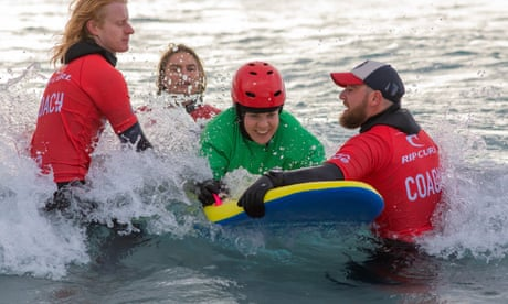 'Water is my happy place': accessible surf school ignites passion for sport in Bristol