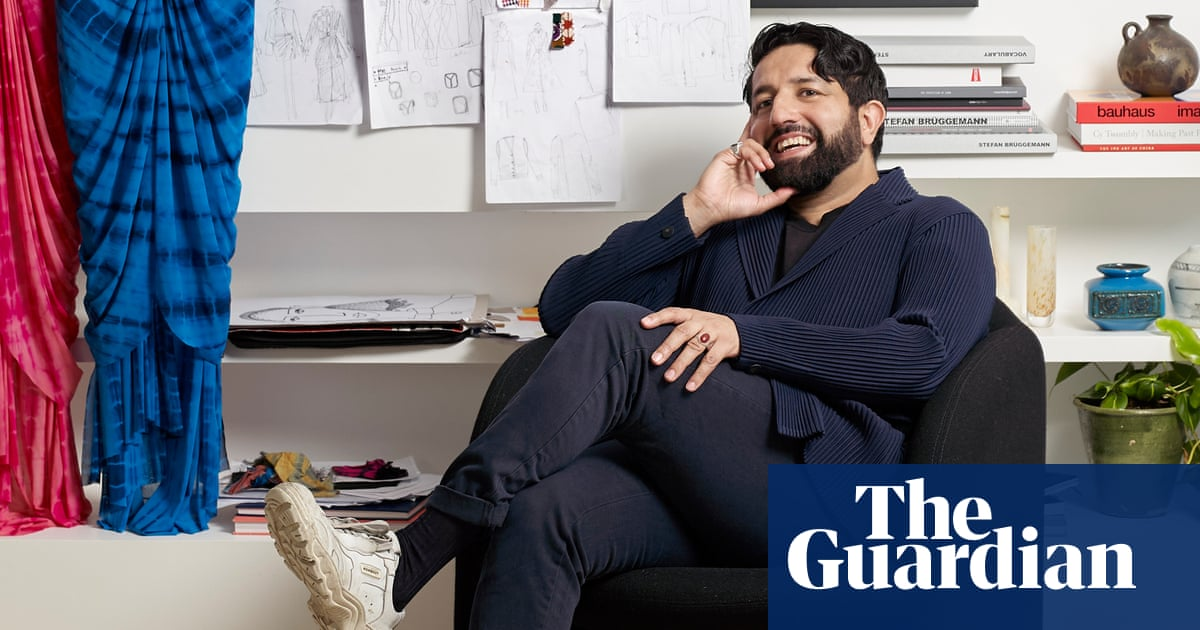 'It can't be ignored': Osman Yousefzada on his gigantic artwork