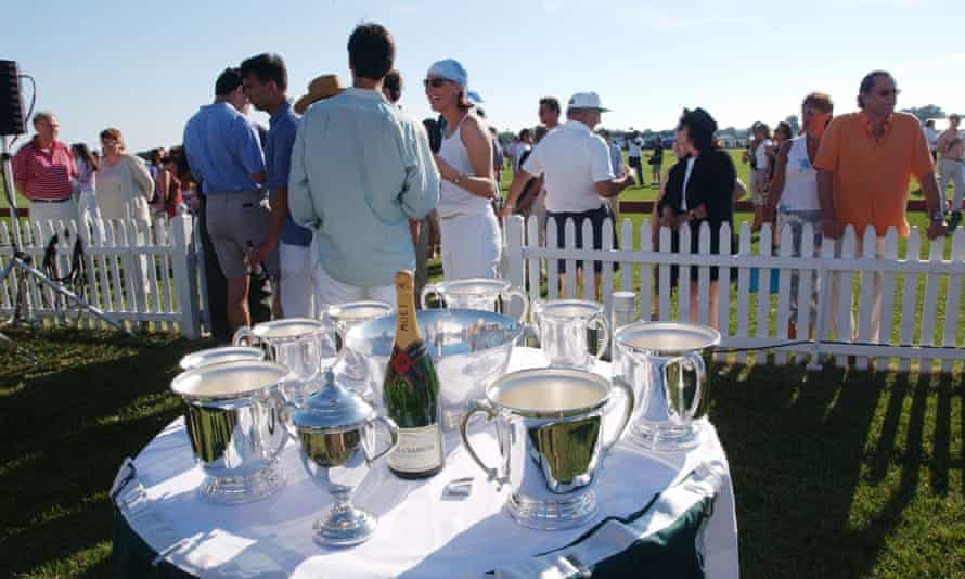 The Mercedes-Benz Polo Challenge in Bridgehampton, NY. The Hamptons summer season starts at the end of May.