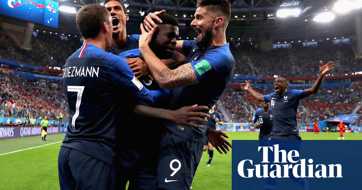 17b95df7a Samuel Umtiti header puts France in World Cup final with win over Belgium