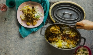 Hari's Hyderabadi kacchi biryani of mutton or goat