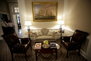 The West Wing lobby