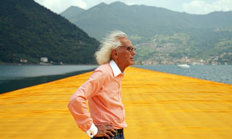 Christo: a life in pictures