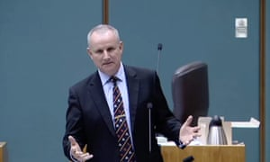 John Elferink, the NT attorney general, who on Tuesday