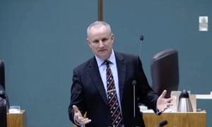 John Elferink in the NT parliament