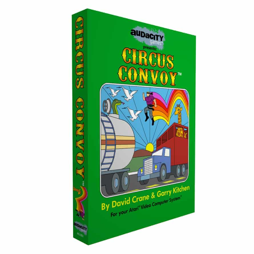Audacity Games released the new Atari 2600 game Circus Convoy this year.