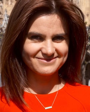 Jo Cox, who became an MP in May 2015, and was murdered in June the next year, aged 41.